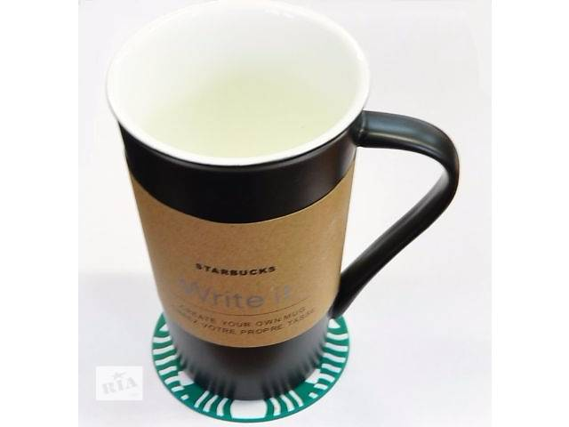 Керамическая чашка Starbucks Мемо- объявление о продаже  в Киеве
