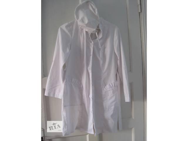 халат белый с шапочкой- объявление о продаже  в Славуте