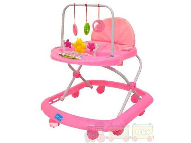 продам Ходунки для малышей 4 цвета с подвесками, дуга с игрушками музыка бу в Ровно