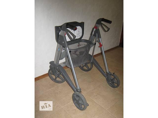 купить бу Ходунки каталка для пожилых людей  ходунки с колесами, ходунки-роляторы, ходунки для взрослых, пожилых и инвалидов. в Умани