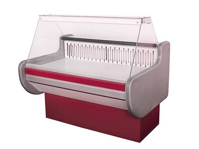 Холодильная витрина универсальная ВХСКУ ЛИРА 1.3 - оптимальное сочетание цена/качество- объявление о продаже   в Украине