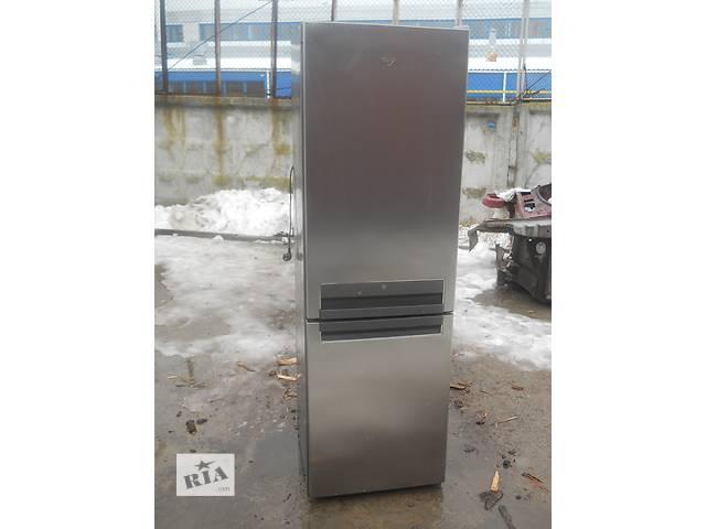бу Холодильник двухкамерний Whirlpool BSNF 8772OX Б.у. висота в Хмельницком