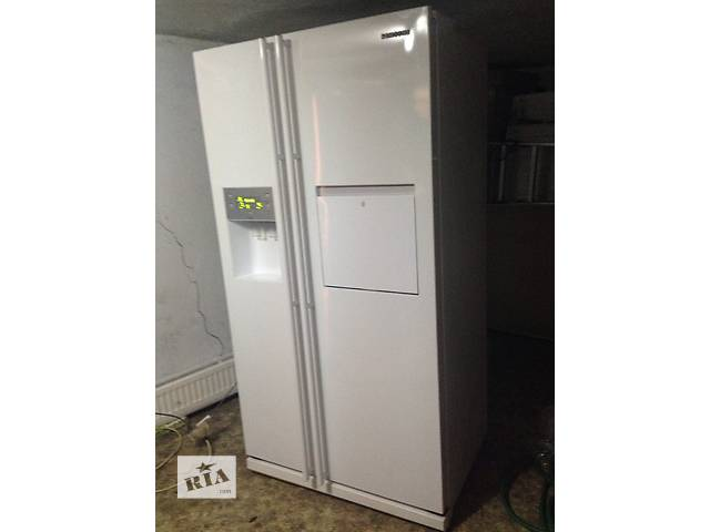 купить бу холодильник side by side samsung no frost made in korea в Львове