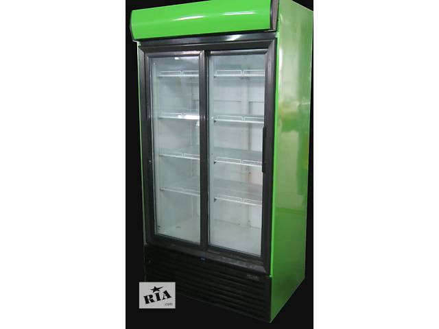 Холодильный шкаф со стеклянной дверью бу Frigorex 900 л, отличное качество - объявление о продаже   в Украине