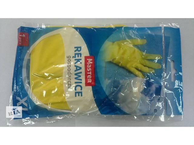 Хозяйственные перчатки с внутренним х/б напылением- объявление о продаже  в Киеве