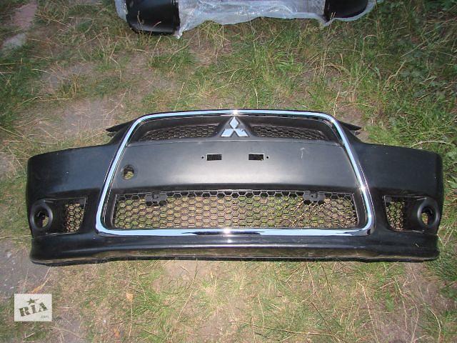 купить бу 6400B398 6400D868 6400B397 Хром бампера Mitsubishi Lancer X в Киеве
