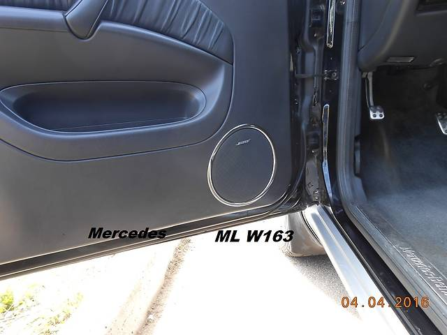 купить бу Mercedes ML W163 Хромнакладки на карты дверей в Киеве