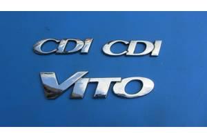 Хромированные накладки Mercedes Vito груз.