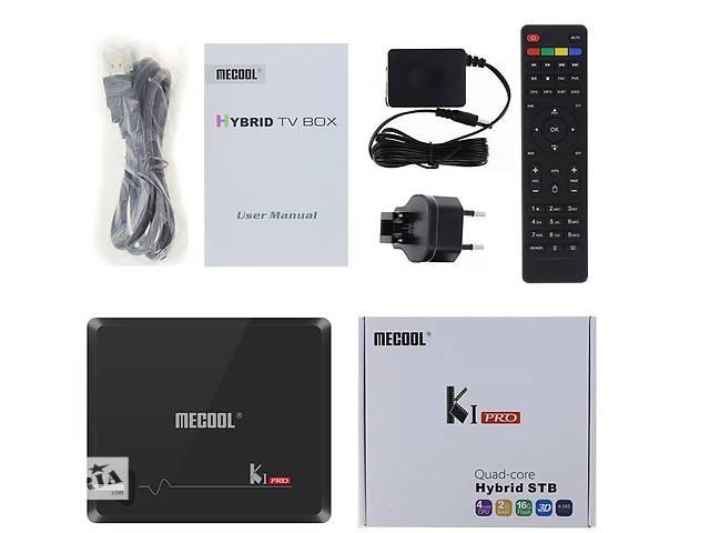 купить бу KI PRO DVB- C/T2/S2 - гибридная 4K ТВ приставка, Amlogic S905D, 2/16Gb, Android 7.1. в Киеве
