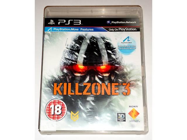 купить бу Killzone 3 для PS3 диск, на русском в Запорожье