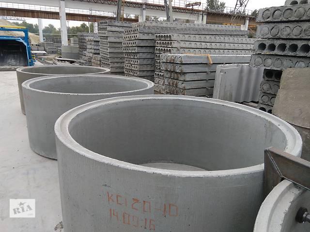 Кольца бетонные, ЄВРОКІЛЬЦЯ (паз-гребень) высокого качества, недорого, производитель- объявление о продаже  в Полтаве