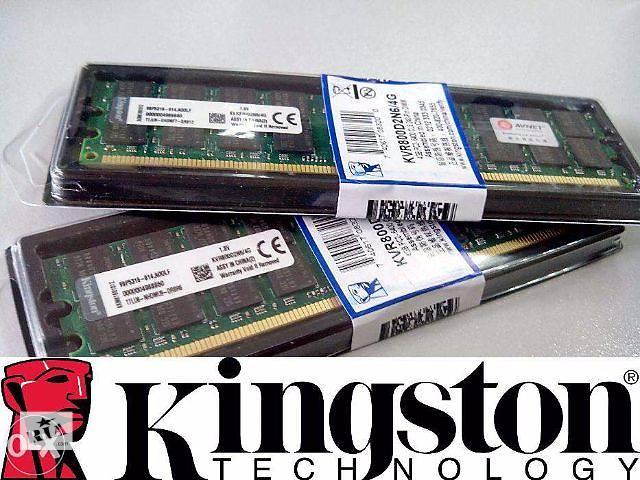 бу Kingston DDR2 4Gb PC6400 AMD Киев Качество! в Киеве