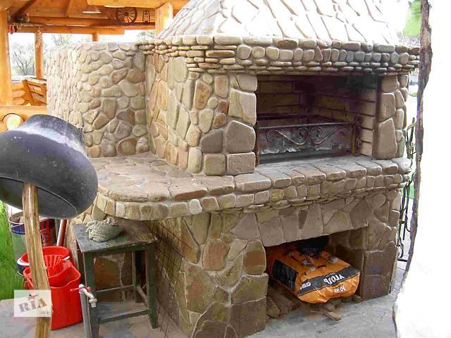 купить бу Кладка каминов, печей, барбекю в Киевской области