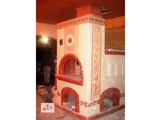 Кладка камина, кладка печи- объявление о продаже  в Виннице