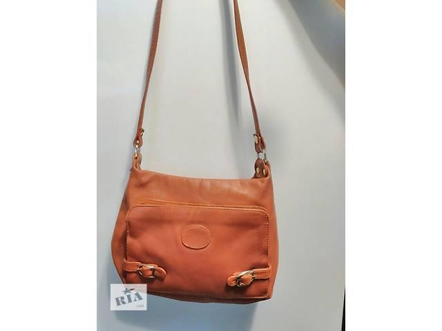 Классная кожаная сумка- объявление о продаже  в Подольске (Котовске)