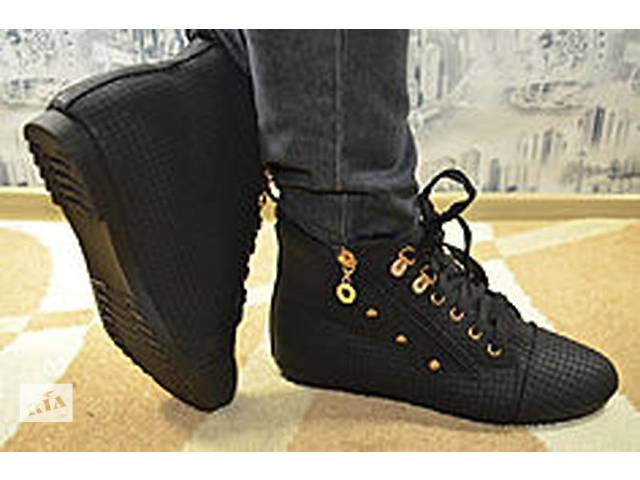 продам Классные зимние ботиночки на густом меху бу в Днепре (Днепропетровск)