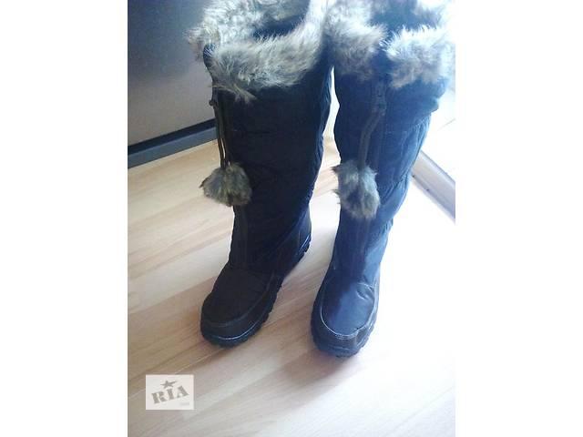 продам Классные зимние сапожки 37-41 бу в Днепре (Днепропетровск)