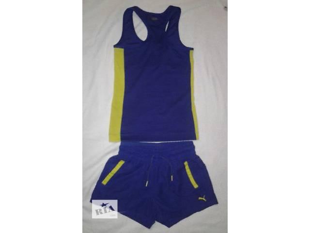 бу Классный спортивный костюм для фитнеса( стреч шорты,майка) puma,размер 36  в Харькове