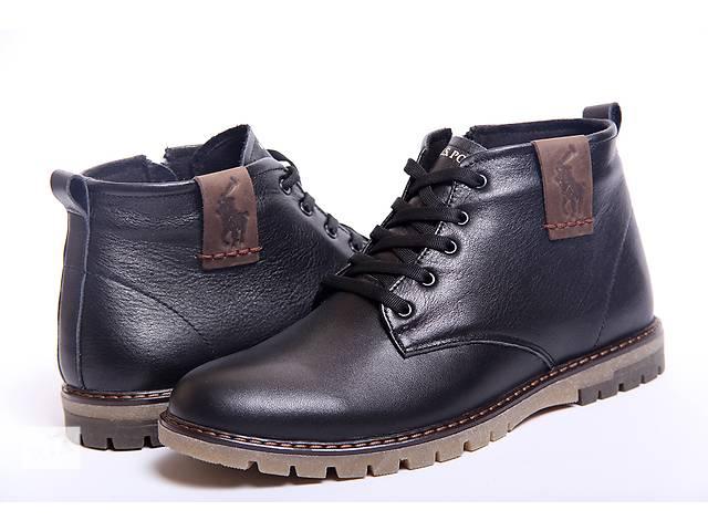 Классические зимние мужские ботинки из натуральной кожи Polo model B - 15- объявление о продаже  в Вознесенске