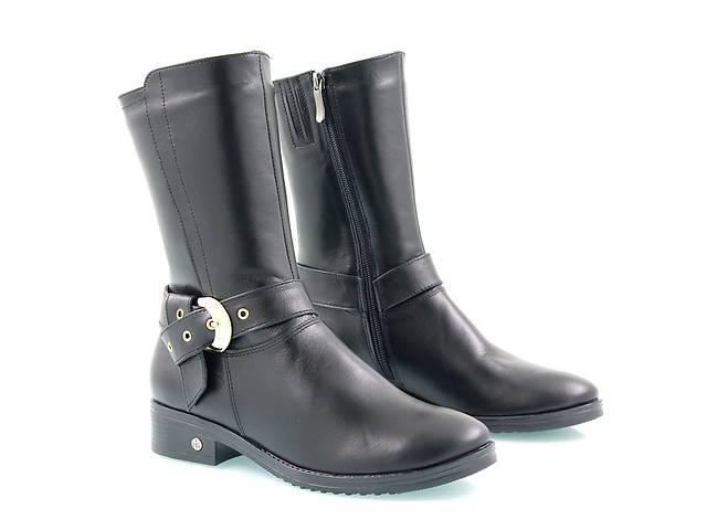 Классические зимние женские полусапожки-ботинки.Интересная модель.- объявление о продаже  в Киеве