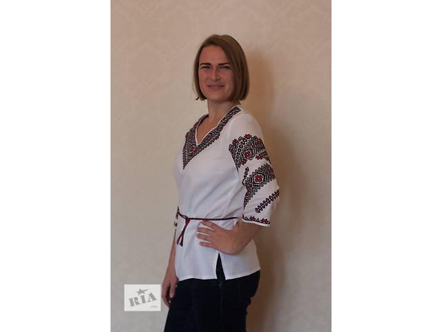 Класична вишивка на блузці- объявление о продаже  в Киеве
