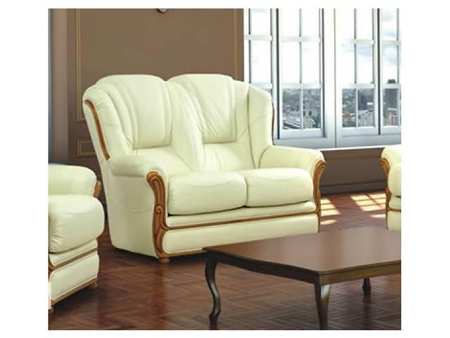 продам класичний шкіряний комплект 3+1+1, шкіряний уголок 3+1+1,угловой диван + кресла бу в Дрогобыче