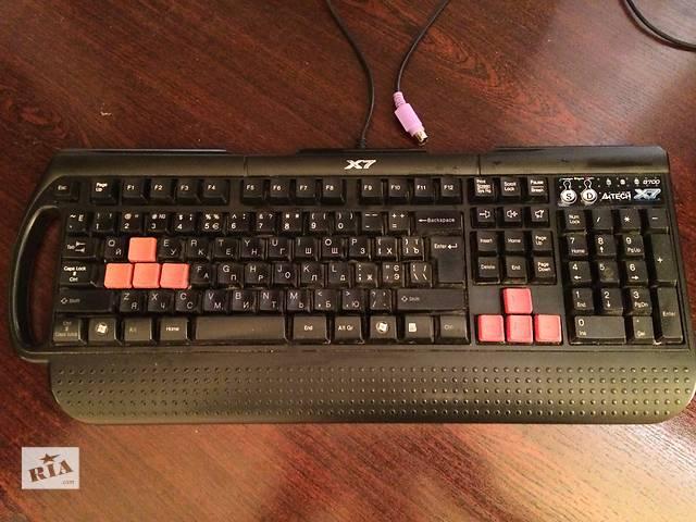купить бу Клавиатура A4 Tech X7 G700 в Ромнах