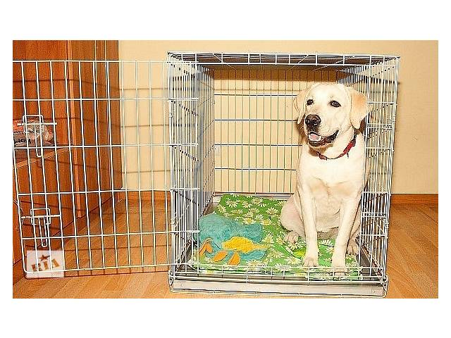 бу Клетка для собак 2-двери 92х63х72h см в Киеве