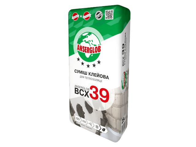 Клей для утеплителей ANSERGLOB ВСХ-39- объявление о продаже  в Броварах
