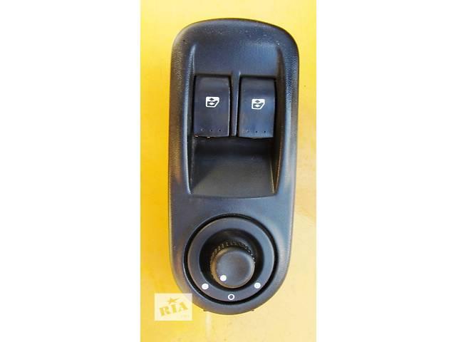 купить бу Кнопки управления зеркалами, стеклоподъемника левые водительские Renault Trafic Рено Трафик Opel Vivaro Опель Виваро в Ровно