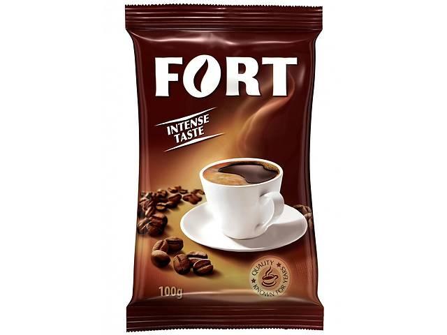 бу Кофе Форт молотый 100г му Fort  в Украине