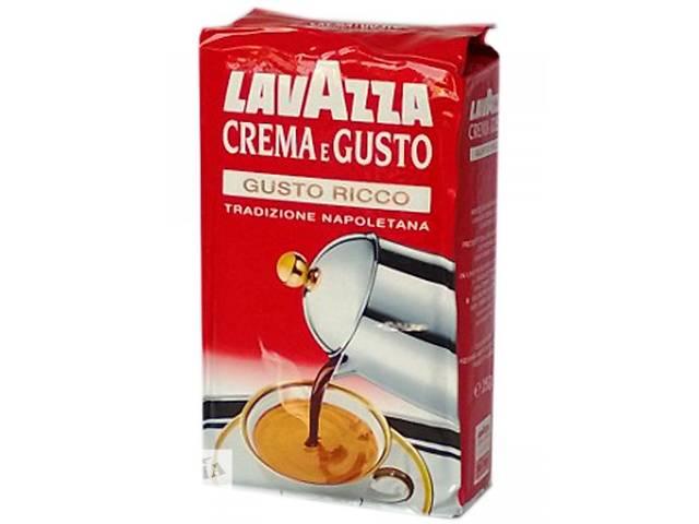 Кофе Лавацца Lavazza Крема Рикко молотый 250г- объявление о продаже   в Украине