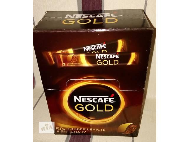 продам кофе Nescafe (Нескафе) gold в стиках бу в Сумах
