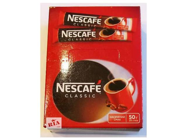 купить бу Кофе нескафе классик стик 2г  в Украине