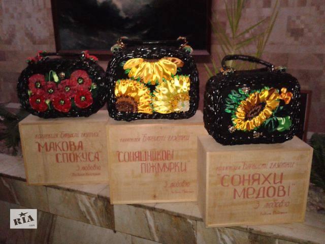 купить бу Коллекция авторских сумок ручной работы в Киеве
