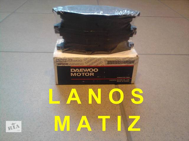 купить бу Колодки тормозные для Lanos/Matiz в Донецке