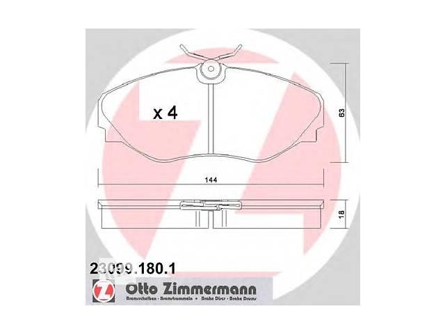 продам Колодки тормозные (передние) Renault Trafic/Opel Vivaro 01- бу в Луцке