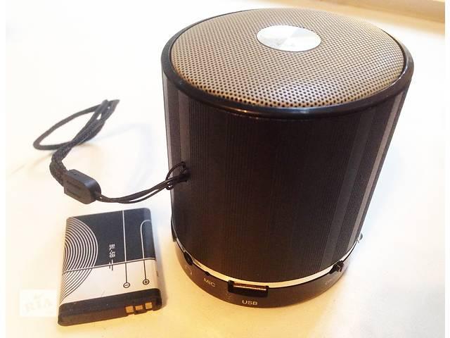 продам Колонка портативная Bluetooth блютуз, радио Проигрыватель USB, SD бу в Одессе