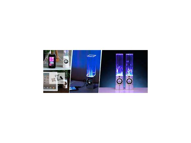 продам Колонки водные танцующие фонтанчиками новые бу в Полтаве