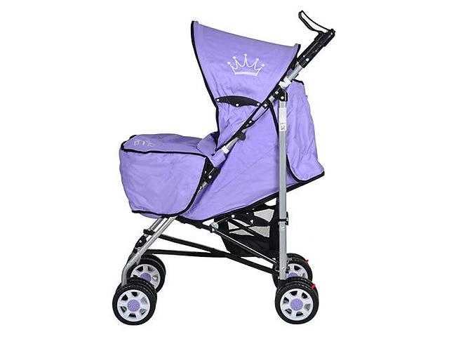 продам Коляска детская BAMBI ARIA S1-7, фиолетовый бу в Киеве