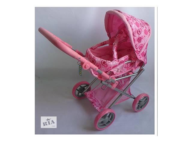 купить бу Коляска трансформер MELOGO 9346, розовая в кружочек в Одессе