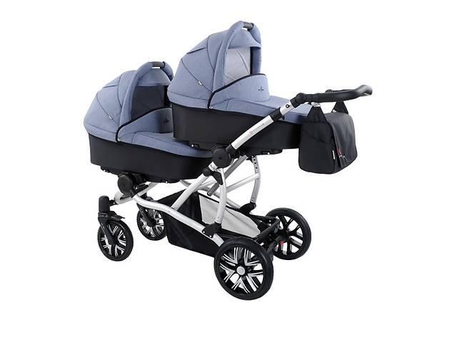 купить бу Коляски для двійні Bebetto-42. Нові дитячі коляски для двійнят в Львове