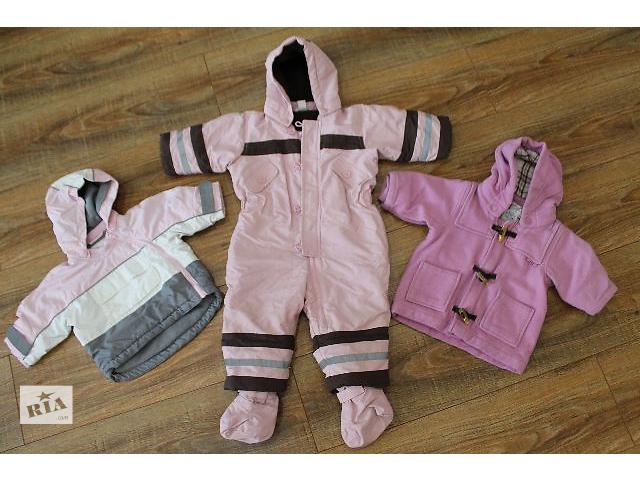 Комбинезон сдельный р.74, курточка р.64,пальтишко р.62,фирма H&M,все в идеале( цена за комплект)- объявление о продаже  в Виннице