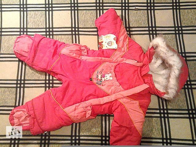 продам Комбинезон-трансформер на девочку, детский зимний комбинезон, зимний конверт для новорожденной девочки бу в Мелитополе