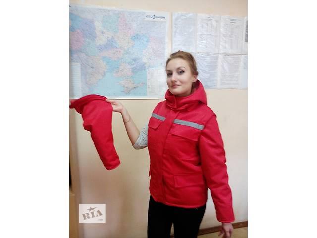 купить бу Костюм утепленный,курточка и полукомбинезон зимний,спецодежда зимняя в Чернигове