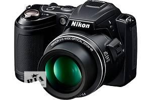б/у Компактная фотокамера Nikon CoolPix L120 Black