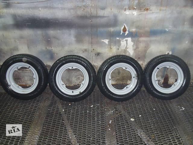 продам  комплект 4 шт. диск с шиной для ЗАЗ Таврия Славута бу в Днепре (Днепропетровск)