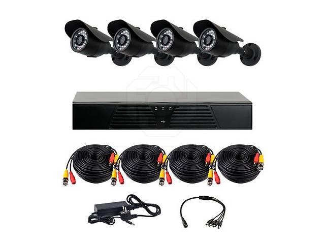 бу Комплект AHD видеонаблюдения на 4-е уличные камеры CoVi Security EPK-01W HD KIT в Житомире