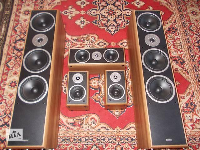продам Комплект акустики 5.0 Magnat и ресивер Kenwood бу в Сумах