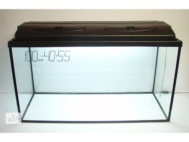 купить бу Комплект:аквариум 220л+крышка на две лампы дневного света. в Днепре (Днепропетровске)